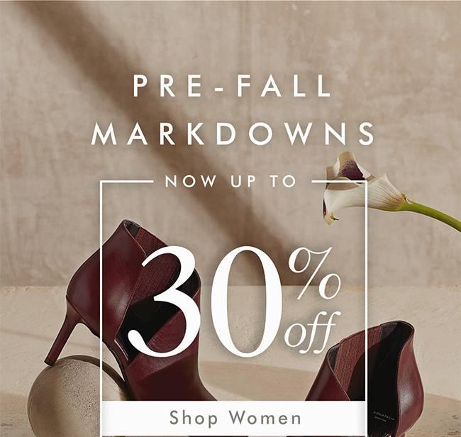 Pre - Fall Markdown - Shop Women