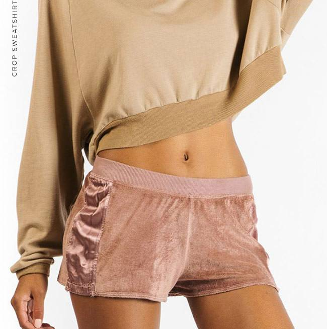 Crop Sweatshirt - Shop Now