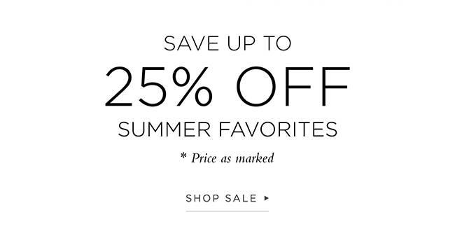 Summer Favorites Shop Sale